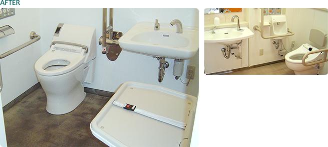 商業施設 / 多目的トイレ新設工事